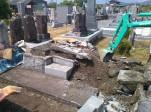 M家様 墓所修理、墓誌建立