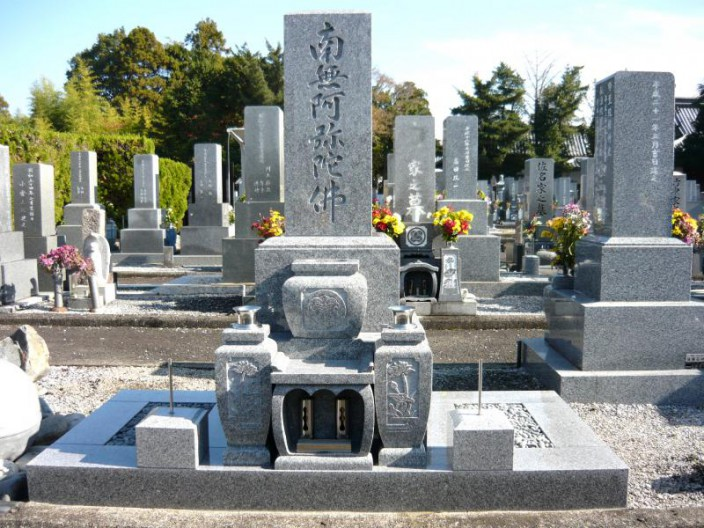 K家様墓石新規建立