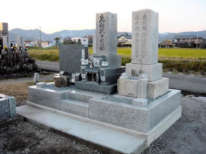 K家様 墓石修理(リフォーム)