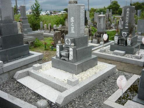O家様 墓所修理(リフォーム)