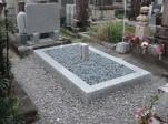 S家様 墓石修理、墓誌建立